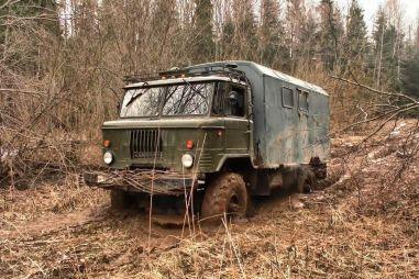 ГАЗ-66. Покой нам только снится