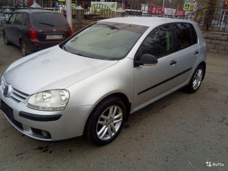 Volkswagen Golf 2007 - отзыв владельца