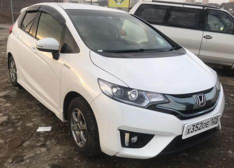 Honda Fit 2015 - отзыв владельца