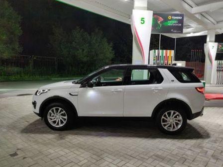 Land Rover Discovery Sport 2017 - отзыв владельца