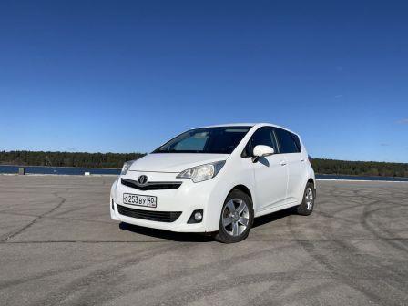 Toyota Verso-s 2012 - отзыв владельца