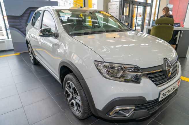 Renault Logan Stepway, 2020 год, 948 600 руб.