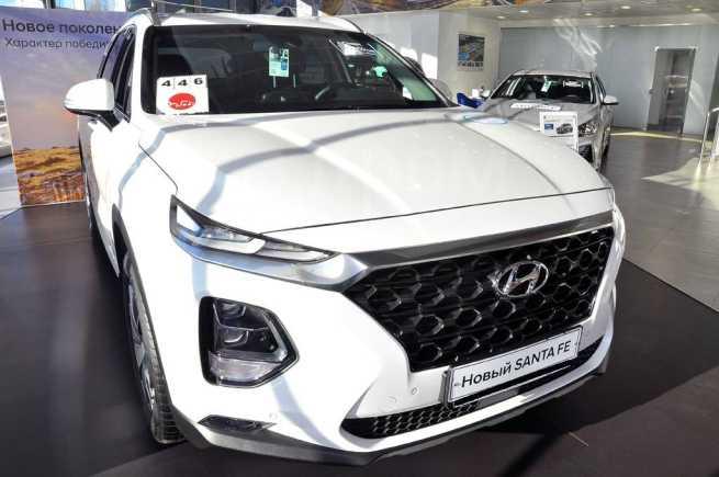 Hyundai Santa Fe, 2020 год, 2 524 000 руб.