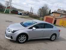 Егорлыкская Avensis 2012
