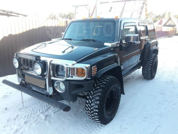 Hummer H3, 2007 год, 800 000 руб.