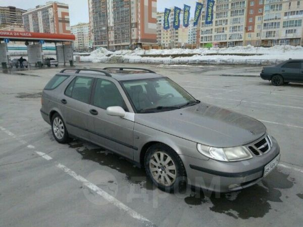Saab 9-5, 2002 год, 250 000 руб.
