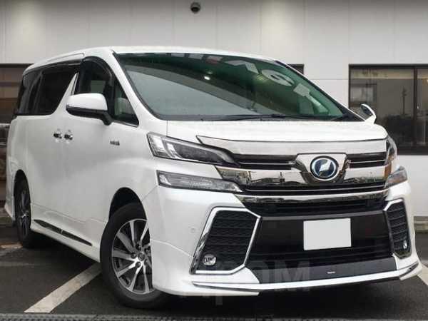 Toyota Vellfire, 2016 год, 1 475 000 руб.