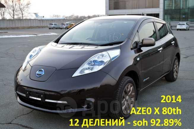 Nissan Leaf, 2014 год, 625 000 руб.