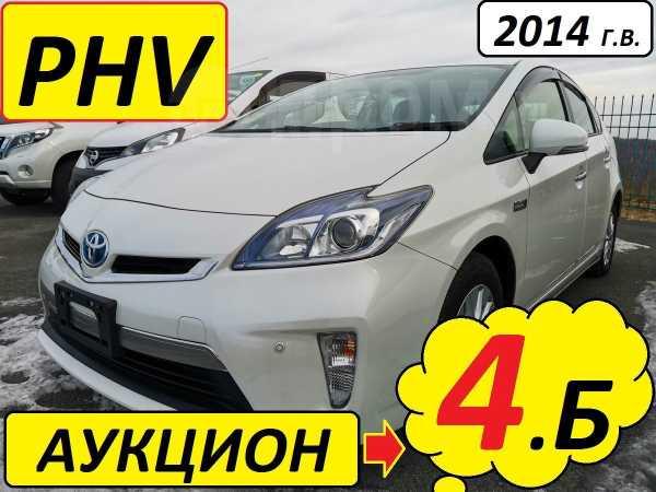 Toyota Prius PHV, 2014 год, 1 050 000 руб.