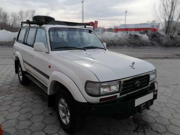 Toyota Land Cruiser, 1996 год, 799 999 руб.