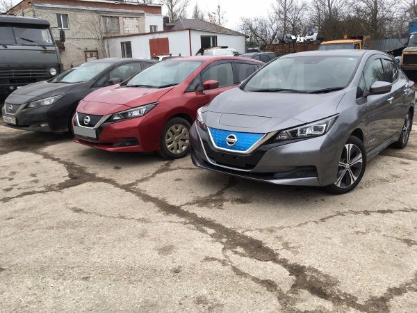 Nissan Leaf, 2018 год, 1 450 000 руб.
