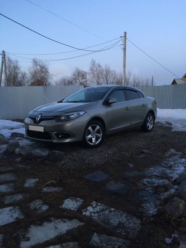 Renault Fluence, 2013 год, 570 000 руб.
