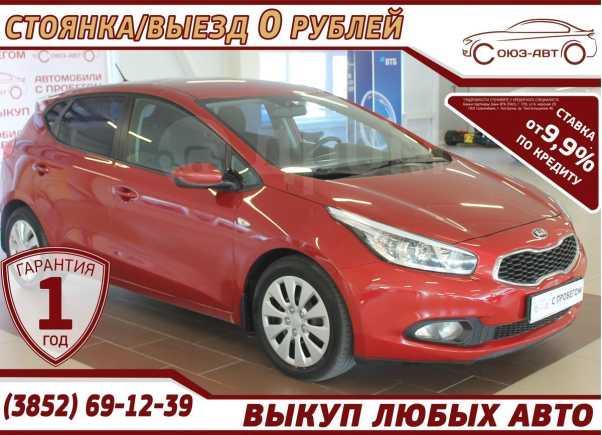 Kia Ceed, 2013 год, 578 000 руб.