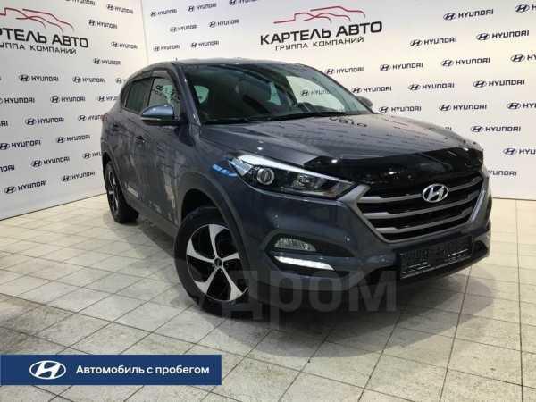 Hyundai Tucson, 2016 год, 1 209 000 руб.