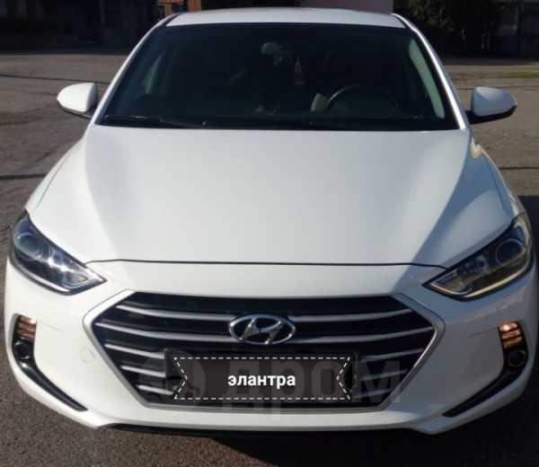 Hyundai Elantra, 2017 год, 878 000 руб.