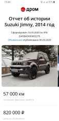 Suzuki Jimny, 2014 год, 820 000 руб.