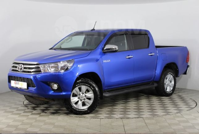 Toyota Hilux Pick Up, 2017 год, 1 799 000 руб.