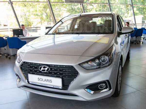 Hyundai Solaris, 2019 год, 930 000 руб.