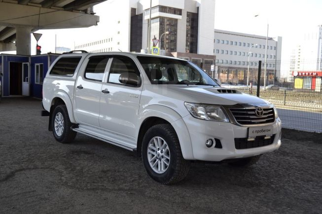 Toyota Hilux Pick Up, 2014 год, 1 430 000 руб.