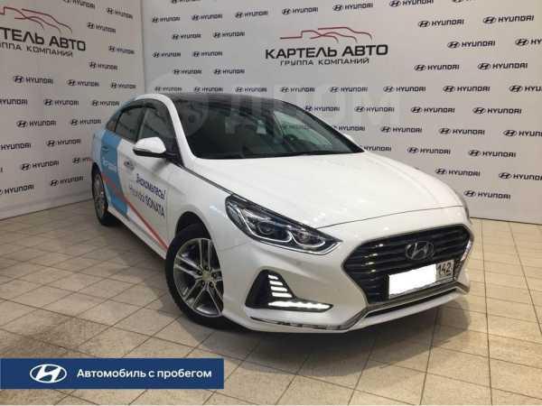 Hyundai Sonata, 2018 год, 1 649 000 руб.