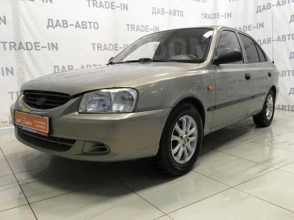 Hyundai Accent, 2008 год, 189 100 руб.