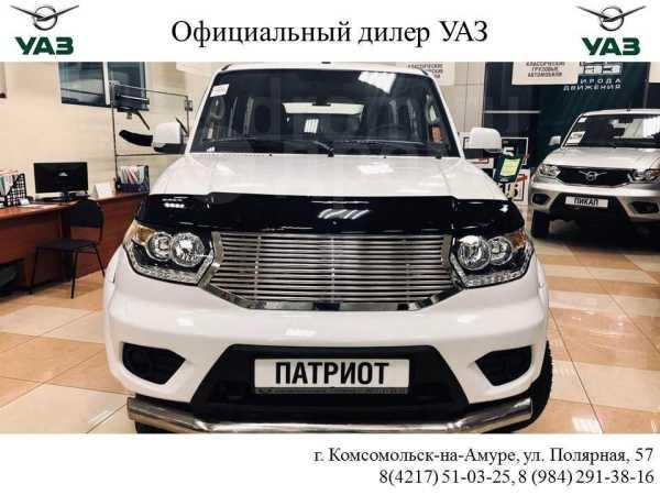 УАЗ Патриот, 2019 год, 1 270 000 руб.