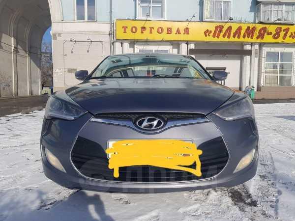 Hyundai Veloster, 2012 год, 580 000 руб.