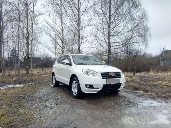 Geely Emgrand X7, 2015 год, 529 000 руб.