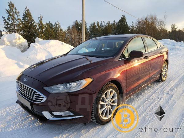 Ford Fusion, 2016 год, 1 050 000 руб.
