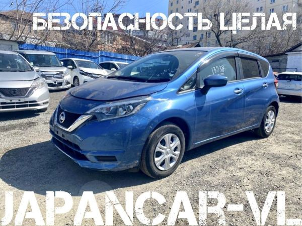 Nissan Note, 2017 год, 495 000 руб.