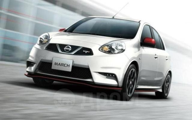 Nissan March, 2017 год, 589 000 руб.