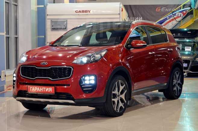 Kia Sportage, 2016 год, 1 689 000 руб.