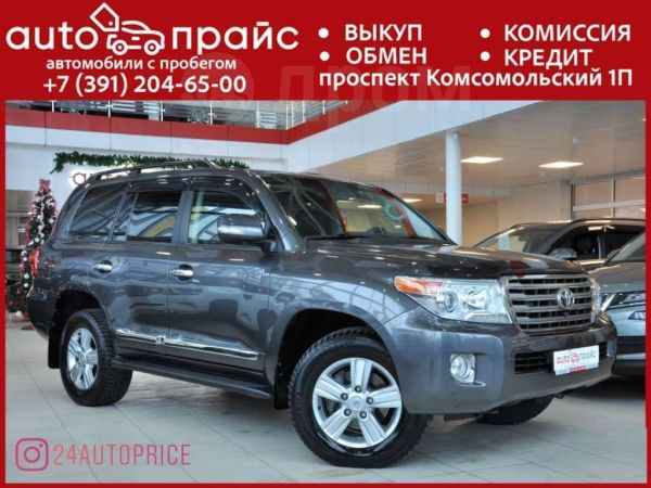 Toyota Land Cruiser, 2012 год, 2 350 000 руб.