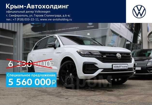 Volkswagen Touareg, 2019 год, 5 560 000 руб.