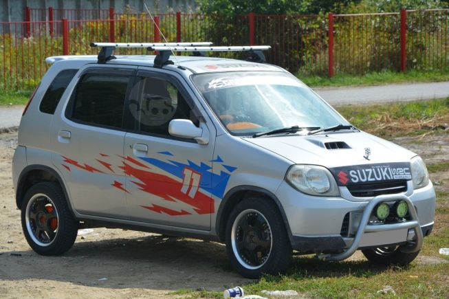Suzuki Kei, 2001 год, 210 000 руб.