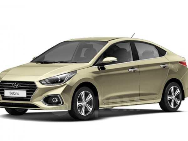 Hyundai Solaris, 2019 год, 890 000 руб.