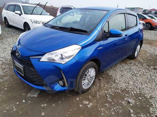 Toyota Vitz, 2017 год, 715 000 руб.