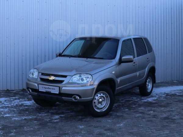 Chevrolet Niva, 2017 год, 444 000 руб.