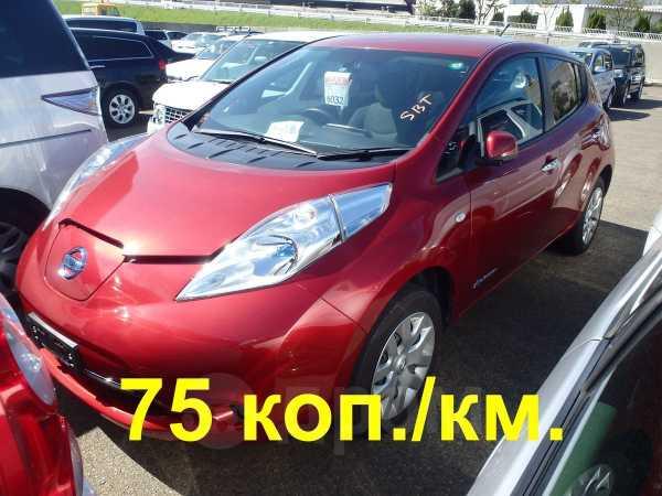 Nissan Leaf, 2013 год, 652 000 руб.