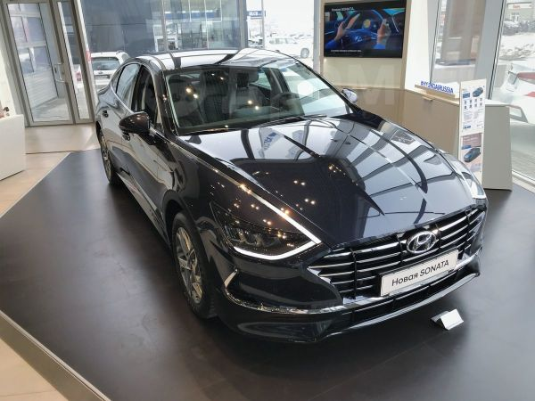 Hyundai Sonata, 2019 год, 1 614 000 руб.