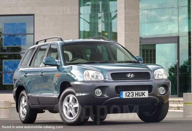Hyundai Santa Fe, 2002 год, 345 000 руб.