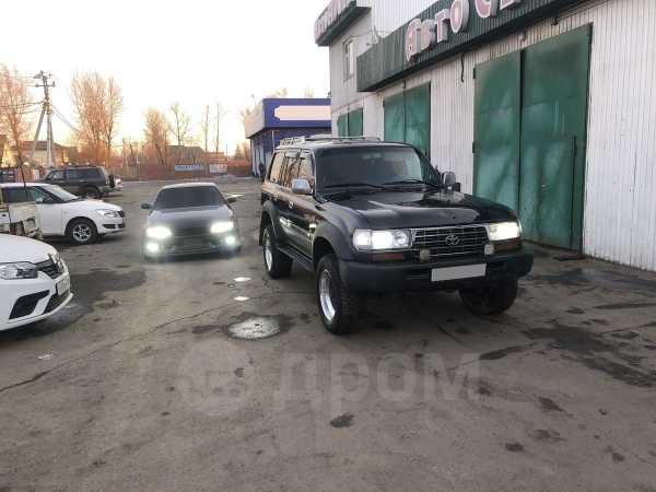 Toyota Land Cruiser, 1996 год, 740 000 руб.