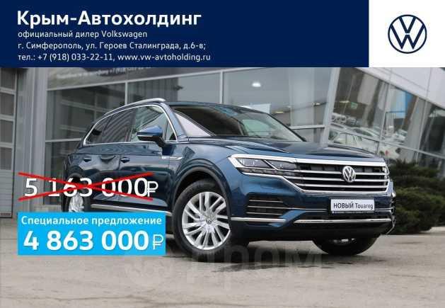 Volkswagen Touareg, 2019 год, 4 863 000 руб.
