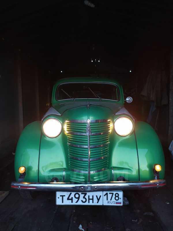 Москвич 401, 1955 год, 219 000 руб.