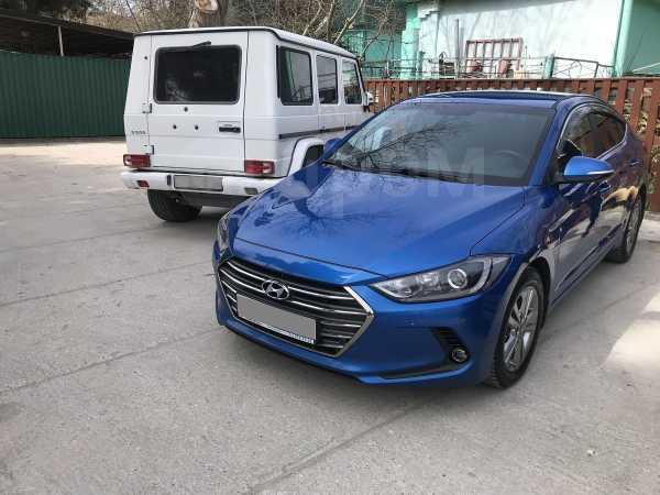 Hyundai Elantra, 2017 год, 837 000 руб.