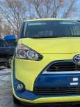 Toyota Sienta, 2016 год, 780 000 руб.