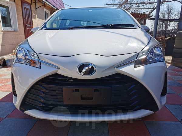 Toyota Vitz, 2017 год, 630 000 руб.