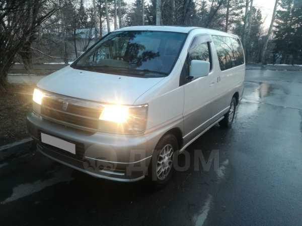 Nissan Caravan Elgrand, 1999 год, 350 000 руб.