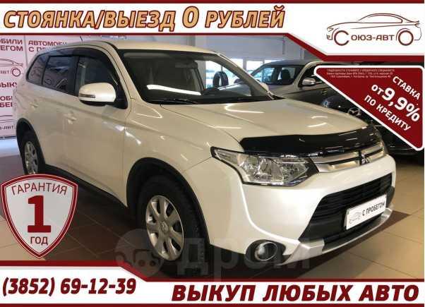 Mitsubishi Outlander, 2014 год, 928 000 руб.