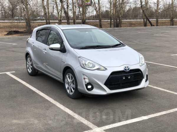 Toyota Aqua, 2015 год, 659 000 руб.